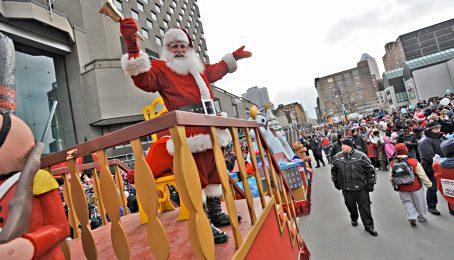 Parade Père-Noël