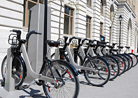 Photo de vélos Bixi