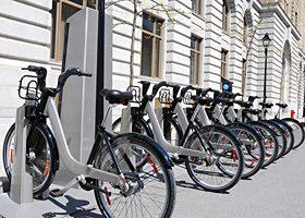 Photo de vélos Bixi