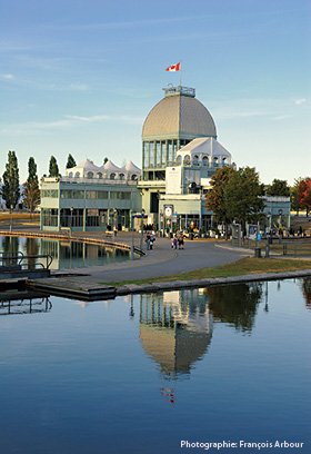 Pavillon du Bassin Bonsecours, Old Port of Montreal, photo credit François Arbour