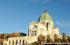 Saint Joseph's Oratory, photo credit François Arbour