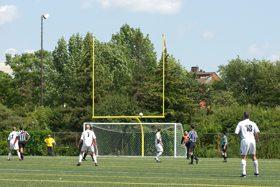 Photo d'un terrain de soccer