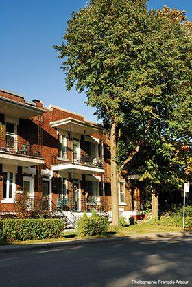 Photo de bâtiments résidentiels